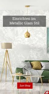 28 metallic glam stil einrichtung ideen zurbrüggen