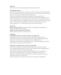 Resume Continuing Education Example