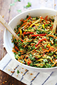 de cuisine thailandaise chopped salad with sesame garlic dressing recipe pinch of yum