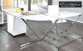grand bureau pas cher bureau d angle blanc pas cher grand bureau d angle dangle