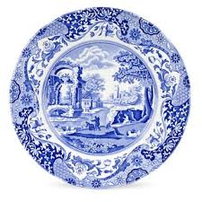 Blue Italian 105 Dinner Plate Set Of 4