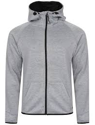 new mens dissident cowley funnel neck zip up hoodie hooded sweater