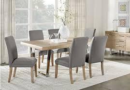 sofia vergara savona ivory 5 pc rectangle dining room two tone chairs
