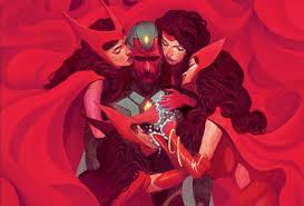 Moviegoers New To The World Of Avengers Might Have Seen Visions Crush On Wanda Maximoff And
