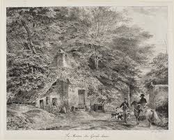 100 Gamekeepers Cottage The From The Album Of 1826 The Art