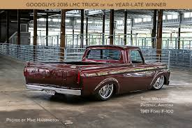 1961 Ford F-100: Goodguys 2016 LMC Truck Of The Year-Late Winner ... For Sale 1960 Mercury Body On A 1991 Dodge Ram 350 Terry Mcconnell Lmc Truck Parts And Accsories Jam Pinterest Lmc Supplier Thrives With Wide Selection The C10 Nationals Week To Wicked Squarebody Finale California Auto Upholstery In Garden Grove Proved 1961 Ford F100 Yahoo Image Search Results F100 Fishing Touches Rebuilt Engine Youtube Se Front End Dress Up Kit Rectangular Single Headlights How To Add An Rolled Rear Pan Hot Rod Network Roger Robions 1968 Ford Ranger Truck 1970 Gmc Derek B Copenhaver Cstruction Inc Todd Williams Goodguys 2016 Of The Year