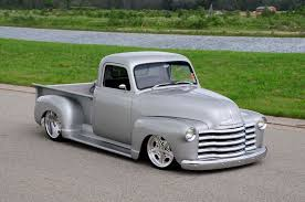 100 1951 Chevy Truck Atomic Silver Pickup Is Packed With Style Hot Rod Network