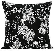 Red Decorative Pillows by Exciting Contemporary Throw Pillows Floral Swirl Accent Throw