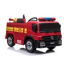 100 Fire Truck Red 12 Volt Battery Operated