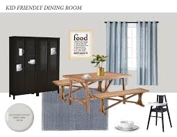 Apr 26 KID FRIENDLY DINING ROOM ON A BUDGET