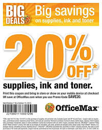 OfficeMax 20% Off Ink & Toners Printable Coupon - Al.com Office Supplies Products And Fniture Untitled Max Business Cards Officemax Promo Code Prting Depot Specialty Store Chairs More Shop Coupon Codes Everything You Need To Know About Price Matching Best Buy How Apply A Discount Or Access Code Your Order Special Offers Same Day Order Ideas Seat Comfort In With Staples Desk 10 Off 20 Office Depot Coupon Spartoo 2018 50 Mci Car Rental Deals