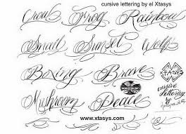 Design Your Own Tattoo Lettering 17 Cursive Fonts For Tattoos 5423251