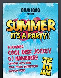 Summer Party Nightclub Poster
