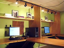 Home Office Ideas : Trendy Home Office Design With Modern Wood ... Tips For Interior Lighting Design All White Fniture And Wall Interior Color Decor For Small Home Office Lighting Design Ideas Interesting Solutions Best Idea Home Various Types Designs Of Pendant Light Crafts Get Cozy Smart Homes Amazing Beautiful With Cool Space Decorating Gylhomes Desk Layout Sales Mounted S Track Fixtures Modern