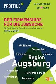 Kã Che Lutz Augsburg Proffile Augsburg 2019 Der Firmenguide Für Die Jobsuche By
