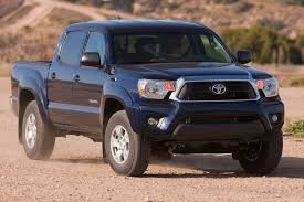 Rugged Toyota Tacoma Midsize Pickup Returns With New Design, New ...