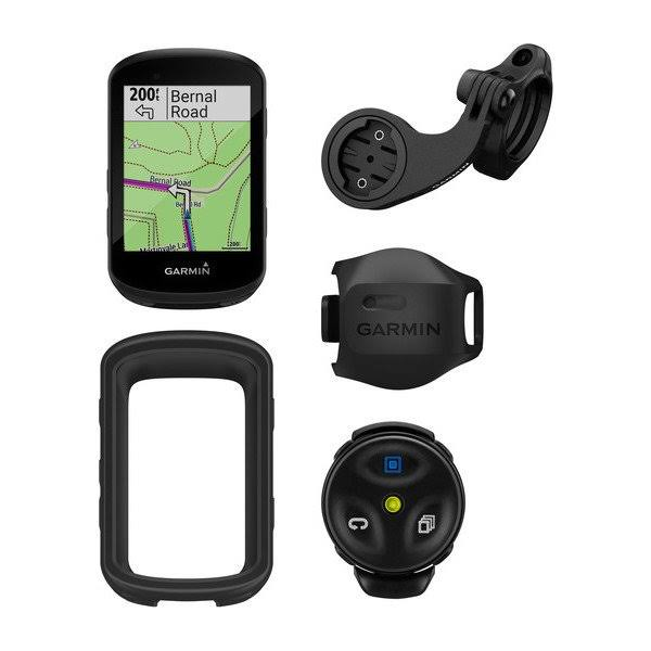 Garmin Edge 530 GPS Cycling Computer Mountain Bike Bundle - Black, 2.6""