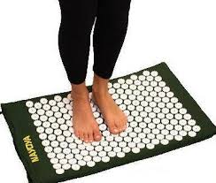 Bed Of Nails Acupressure Mat by Nayoya Acupressure Mat For Back Pain Relief The Shakti Bed Of