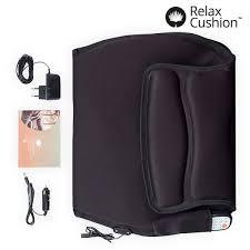 siege relax relax cushion thermal shiatsu seat mat innova goods