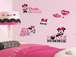 Bedroom Minnie Mouse Decor Luxury Minimalist Kids With Pink Black