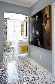 bathroom delectable bathroom decoration using black white mosaic