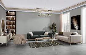 casa padrino luxus deco wohnzimmer sessel braun grau gold 85 x 90 x h 100 cm wohnzimmer möbel deco möbel