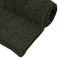 badezimmer teppich anti rutsch grau bad teppiche weich und saugfähig sein um dusche 80x50 cm
