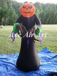 Large Blow Up Halloween Decorations by 9 Foot Large Air Blown Lantern Pumpkin Man Inflatable Halloween