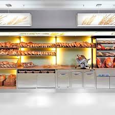 Bread Display Rack Stainless Steel For Pastry Shops