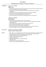 Manual QA Tester Resume Samples | Velvet Jobs 10 Ecommerce Qa Ster Resume Proposal Resume Software Tester Sample Best Of Web Developer Awesome Software Testing Format For Freshers Atclgrain Userce Sign Off Form Checklist Qa Manual Samples For Experience 5 Years Format Experience 9 Testing Sample Rumes Cover Letter Templates Template 910 Examples Soft555com Inspirational Fresh Unique