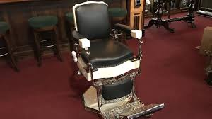 Koken Barber Chair Vintage by 1930 U0027s Koken Barber Chair Sold Youtube