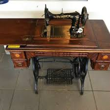 Vintage Kenmore Sewing Machine In Cabinet by Vintage Sears Roebuck Burdick Sewing Machine With Cabinet