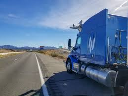 100 Big Blue Trucking Embarks Selfdriving Truck Completes 2400 Mile CrossUS