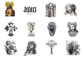 60 3D Jesus Tattoo Designs For Men Religious Ink Ideas Further Best 25 Chi Rho