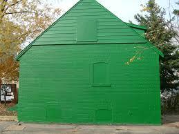 100 Rosanne House Green Monopoly House Sideways Rosanne Maccormickkeen Flickr