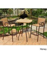 Bar Height Bistro Patio Set by Huge Deal On Castlecreek 3 Piece Patio Bistro Dining Set Bar Height