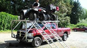 Load It: Over The Cab ATV Loading System - YouTube Sxside Truck Rack Yamaha Rhino Forums Utv Forum Black Widow Atv Carrier Rack System 2000 Lbs Capacity Rearloading Diamondback Atvr Covers Heavyduty Alinum Folding Arched Dual Runner Ramps 75 Long 300 Lb Cargo Storage Building Truck Bed In Cjunction With Diy Quad Loader Loadit Recreational Vehicle Loading Systems Adv Ford Wiloffroadcom Est Motorcycle Tie Down Straps Prevent Scratches Hooks To Ratchet Double For Pickup Trucks With 6 Or On Front Of Carrying H1 Page 2 Arcticchatcom