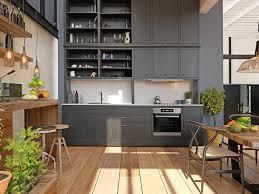 küchentrend 2021 eine küche in schwarz schrankwerk