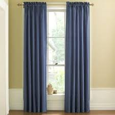 home jenner cotton grommet top thermal curtain panel drapery