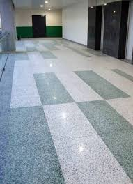 In Situ Terrazzo Flooring Perfectly Complements The Art On Display At This Residence Mumbai