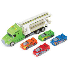 BoysTransporter Car Carrier Truck Toy With Sounds By Collections Etc ... Cheap Toy Truck Car Carrier Find Deals On New Bright 22inch Big Foot With 4 Trucks And Amazoncom Melissa Doug Mickey Mouse Cars Race Prtex 24 Detachable Transporter With Rubber Transport Long For Kids 6 28 Slots Little Earth Nest Az Trading Import Dinosaurs Set Zulily Hot Wheels Toys Children Ar Transporters For Kids Toys Buy Play22 Shrock Brothers 172nd Scale Models