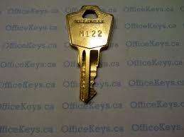 Hon File Cabinet Key Blank by Trendway M101 U2013 M200 Series Code Keys Officekeys Ca