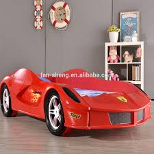 Free Shipping High Quality Kids Furniture Race Car Racing Car Bed