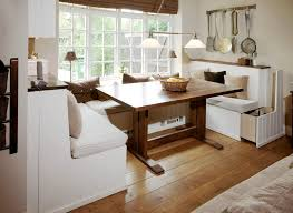 Kitchen Banquette Seating With Storage Contemporary Within Built In Dining Bench Design 18
