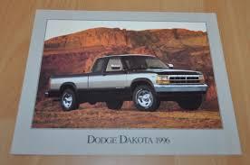 1996 Dodge Dakota Truck Brochure Prospekt - AUTO BROCHURE