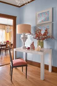 Coral Color Interior Design by Shocking Blue Coral Color Decorating Ideas For Living Room