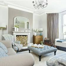Instagram Regram Traditional Living Room Taupe And Duck Egg Blue