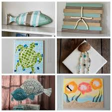 If You Love Coastal Decor Seashell Crafts And Beach Check Out All Of