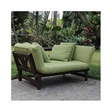 Amazon Patio Lounge Cushions by Amazon Com Studio Outdoor Converting Patio Furniture Sofa Couch
