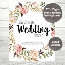 Wedding Planner Printable Wedding Planner Wedding Binder DIY